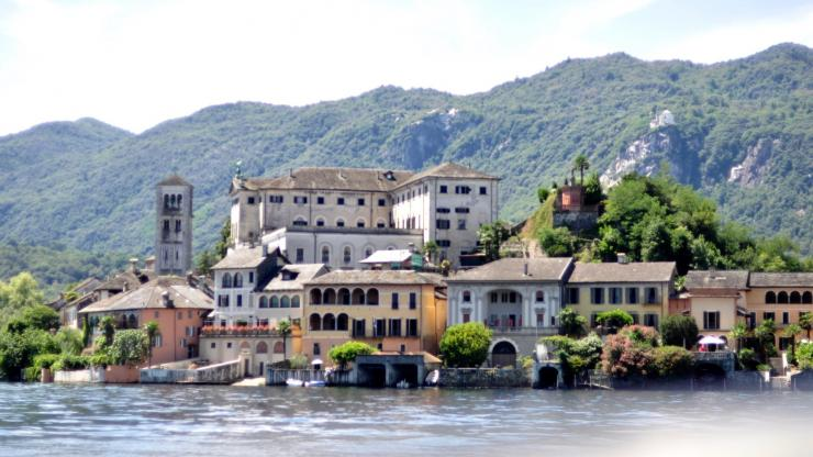 Lago Orta motorcycle 1 day