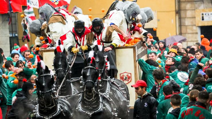 Historical Carnival of Ivrea