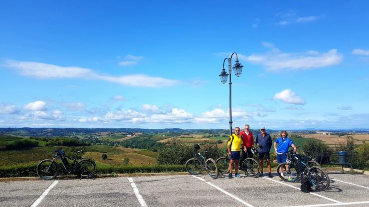 A day out with e-bikes in the Monferrato area