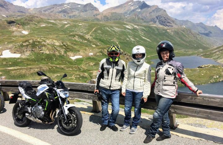 Gran Paradiso by motorcycle